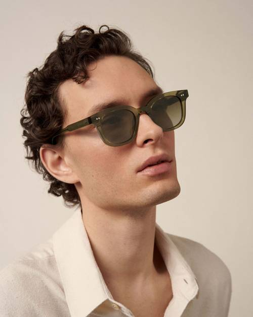 02 GREEN SUNGLASSES CHIMI EYEWEAR