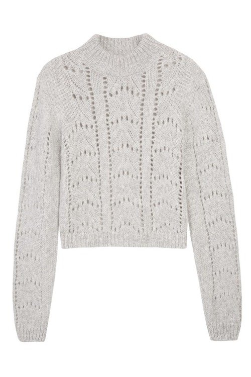 ANABELLE SWEATER GRAY