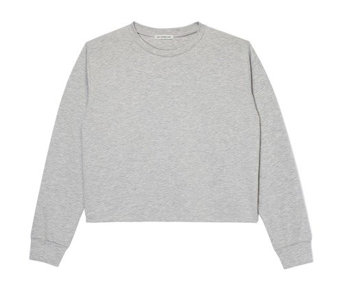 CROPPED LONGSLEEVE GRAY
