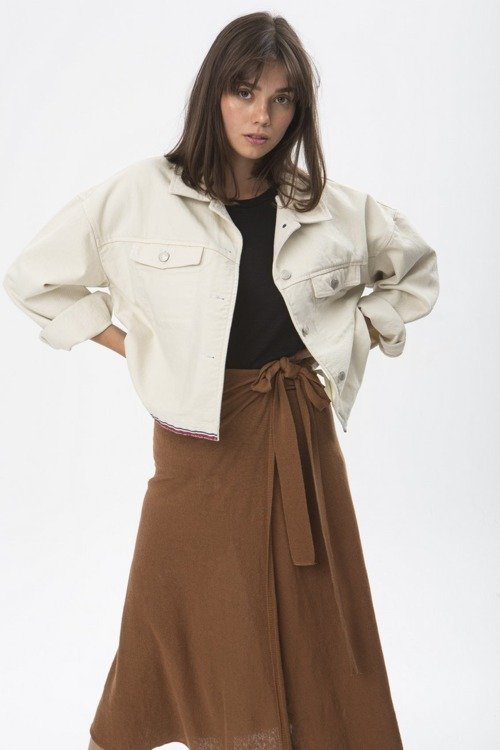 EX-BOYFRIEND JACKET OFF WHITE