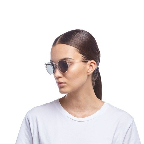 LE SPECS SUNGLASSES UFOLOGY ALT FIT SAND GOLD