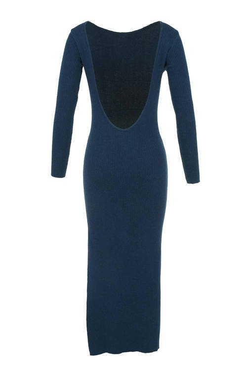 LUNA DRESS NAVY