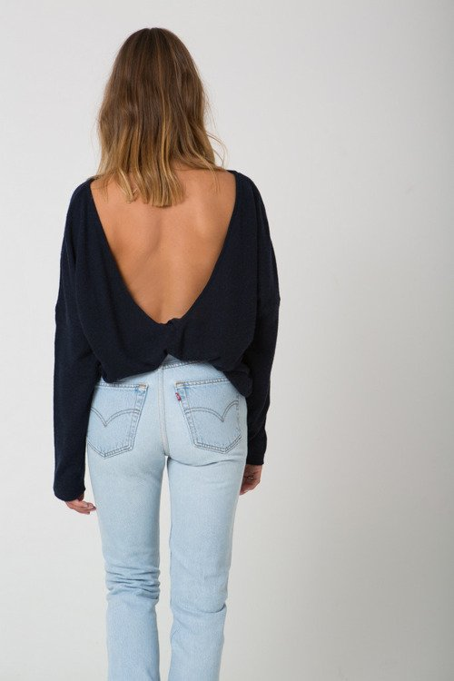 MOONS SWEATER NAVY