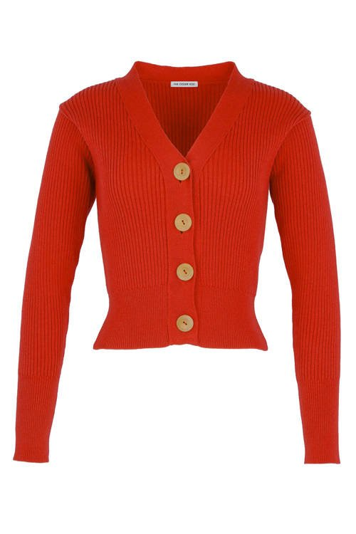 GILET ERIN CHILLI RED