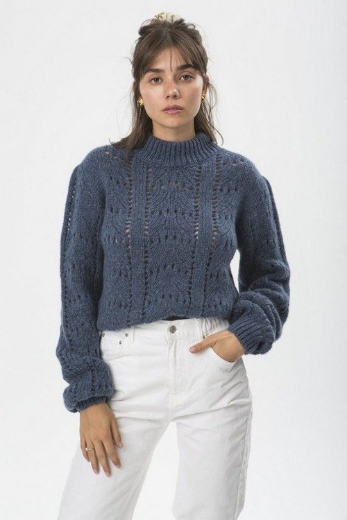 PULL ANABELLE BLEU